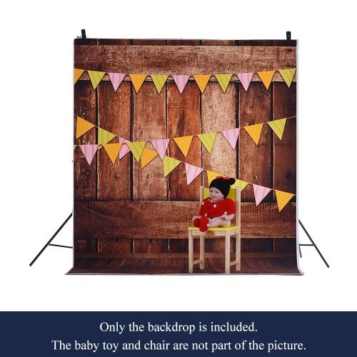 1,5 * 2m / 4,9 * Tło 6.5ft Fotografia tle Computer Printed Oznacz Wzór Drewniane Podłogi dla dzieci Kid Dziecko Noworodek Pet zdjęcie portret studio fotografowania
