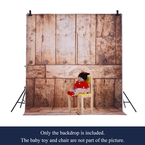 1.5 * 2m Photography Background Backdrop Computer Printed Wood Pattern