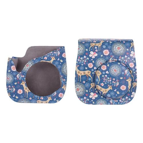 Andoer PU Schutz Kamera Tasche Beutel-Schutz für Fujifilm Instax Mini 8 + / 8s / 8