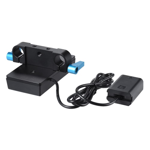 Andoer NP-F970 to NP-FW50 Battery Adapter Mount Plate for Sony α7-α7R-α7S-α7II-α3000-α5000-α5100-α60