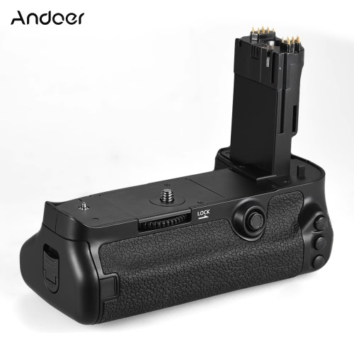 Andoer BG-1W Vertical Battery Grip Holder Replacement for BG-E20 for Canon EOS 5D Mark IV DSLR Camera