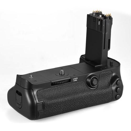 Andoer BG-1W vertical de la batería de repuesto para Grip Holder BG-E20 para Canon EOS 5D Mark IV cámara DSLR