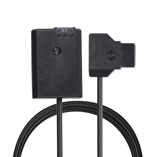 Andoer V-mount / Anton Bauer D-Tap to NP-FW50 DC Battery Coupler Cable for Sony A7 A7II A7S A7SII A7R A7RII A6300 A6500 A6000 A5100 NEX Series Camera