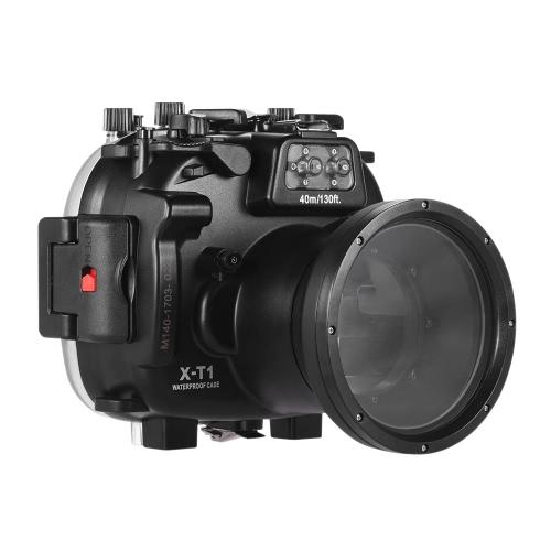 Meikon Plongée Boîtier de caméra étanche Housse de protection sous-marine 40m / 130ft pour Fujifilm Fuji X-T1