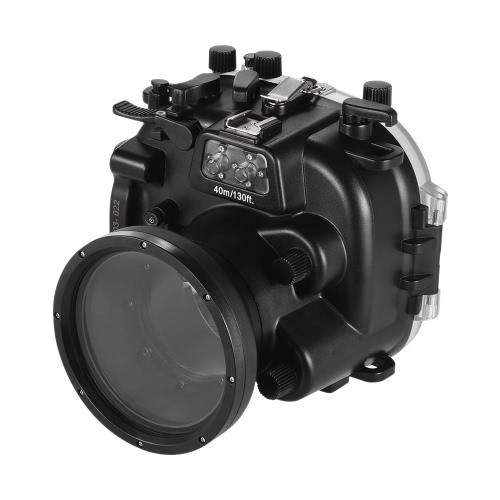 Custodia protettiva in caso di immersione subacquea per alloggiamento subacqueo per telecamera da incasso MEIKON 40m / 130ft per Fujifilm Fuji X-T1
