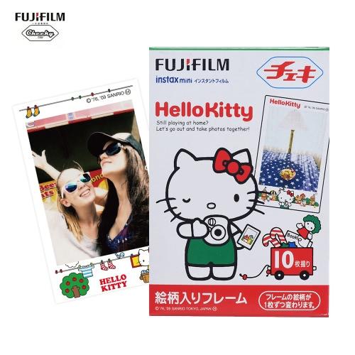Fujifilm Instax Mini 10 arkuszy Hello Kitty KT Film Fotografii Papierowej Natychmiastowa Drukarka do Fujifilm Instax Mini7s / 8/25 / 50s / 70/90 SP-1 / SP-2 Drukarka Smartphone