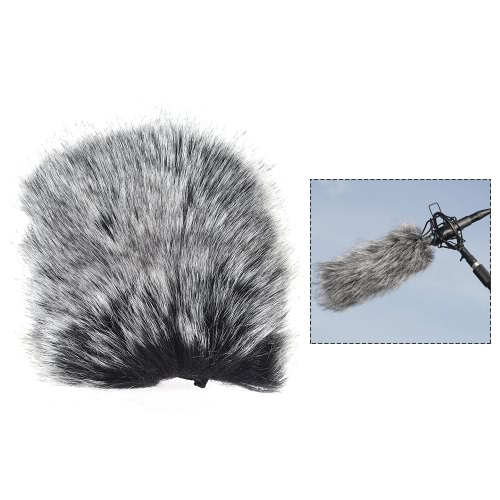 Małe rozmiary mikrofonu zewnętrznego Mikrofonowe futryny przedniej szyby Osłona przedniej szyby do mikrofonu SHENGGU SG-107 / SG109 lub innych mikrofonów kompaktowych 6 * 5 cm / 2,2 * 2 cale (L * D)