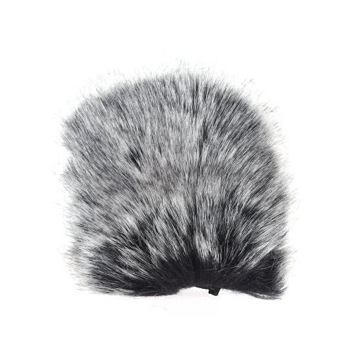 Компактный микрофон для наружного микрофона Микрофон Furry для лобового стекла для SHENGGU SG-107 / SG109 или других компактных микрофонов 6 * 5 см / 2,4 * 2 дюйма (L * D)