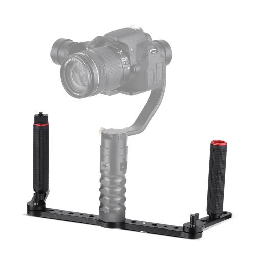 AFI 3SD-1A Dual Grip Gimbal Handle with Joystick Control Aluminum Alloy Material for AFI VS-3SD 3-Axis Gimbal Stabilizer