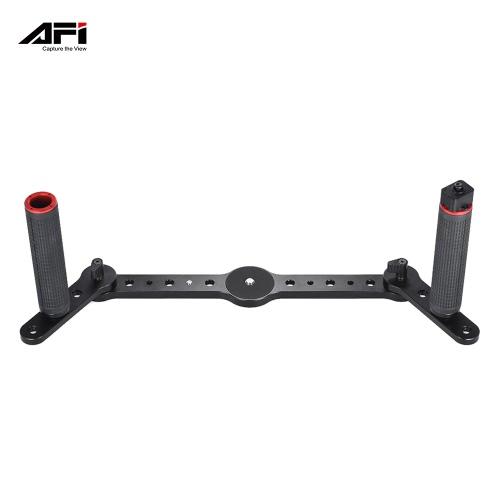 AFI 3SD-1A Podwójny uchwyt uchwytu z joystickiem Aluminiowy materiał do AFI VS-3SD Trójwymiarowy stabilizator gimbalny