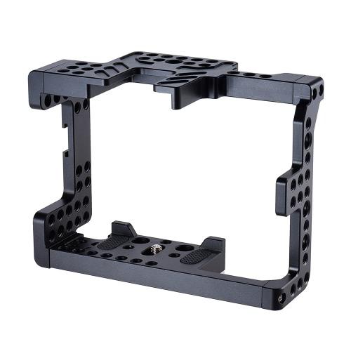 Cage d'appareil-photo d'alliage d'aluminium d'Andoer pour des appareils-photo de Sony A7II A7RII A7SII ILDC