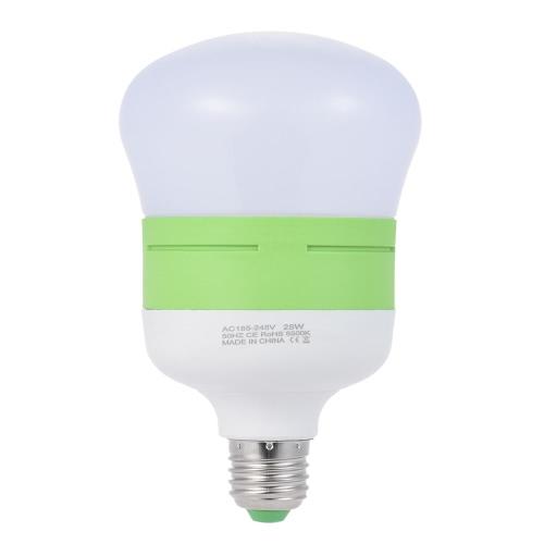 28W energooszczędne E27 żarówka LED światło miękkie 5500K światło dzienne 54szt Koraliki do fotografii Pro Studio Wideo Domowe oświetlenie handlowe