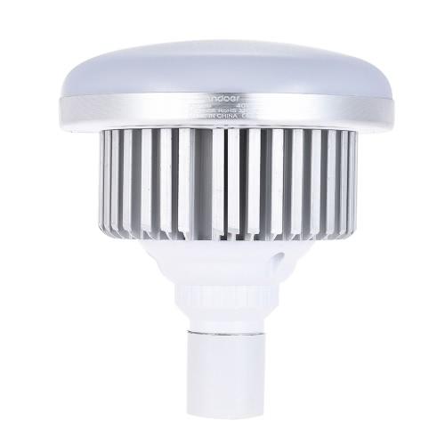 Andoer E27 40W żarówka energooszczędna 3200K Żółta lampa ciepłego światła dla foto Studio Wideo Domowe oświetlenie handlowe