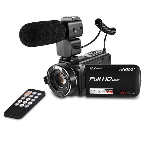 Andoer HDV-Z82 1080P Kamera Full HD do cyfrowych kamer wideo