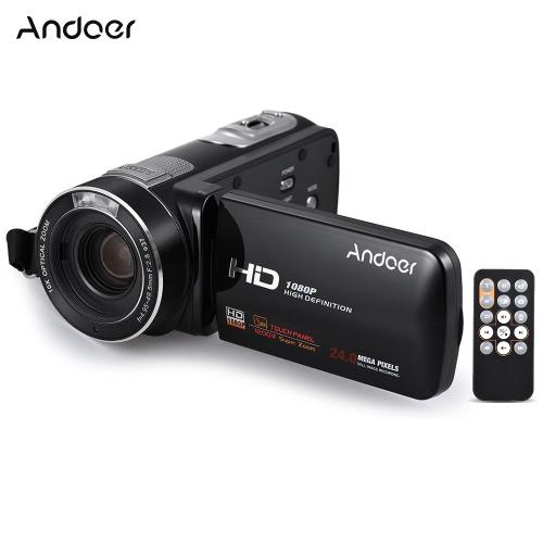 Caméscope Andoer HDV-Z80 1080P Full HD Caméra vidéo numérique