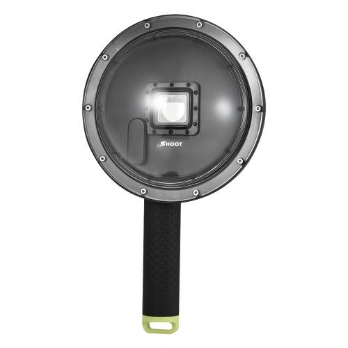 SHOOT XTGP258 6 pouces Action Camera Diving Fisheye Dome Port