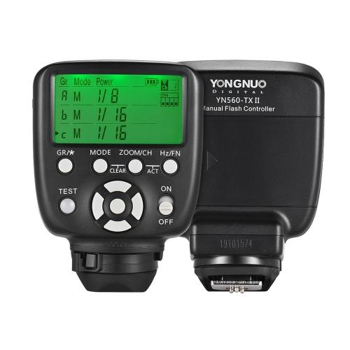 YONGNUO YN560-TX II Télécommande Manuelle Déclencheur Flash