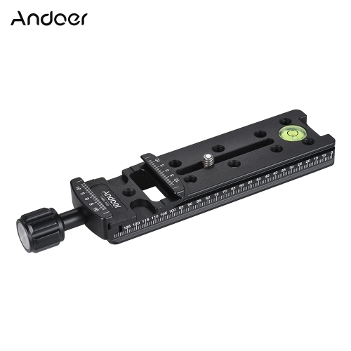 Andoer FNR-140 140mm Quick Release Plate Tripod Nodal