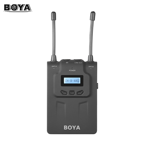 Bezprzewodowy mikrofon BOYA BY-WM8R UHF Dual-Anrenna