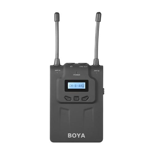 BOYA BY-WM8R UHF Dual-Anrenna Funkmikrofon System Empfänger