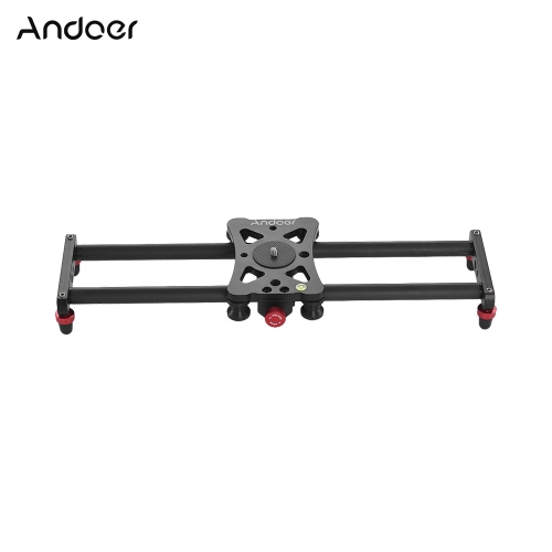 Andoer 40cm Portable Mini Carbon Fiber Track Slider