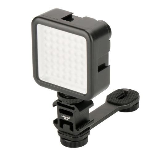 Supporto per fotocamera portatile Supporto per fotografia notturna Accessorio per videocamera a tre camere con montaggio a slitta a caldo