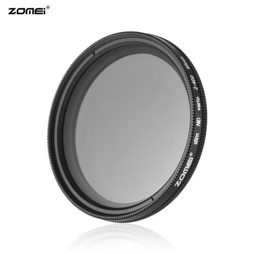 ZOMEI 49mm Ultra Slim Variable Fader ND2-400 Neutral Density ND Filter Adjustable ND2 ND4 ND8 ND16 ND32 to ND400 for Sony NEX 18-55mm Lens D5856-2