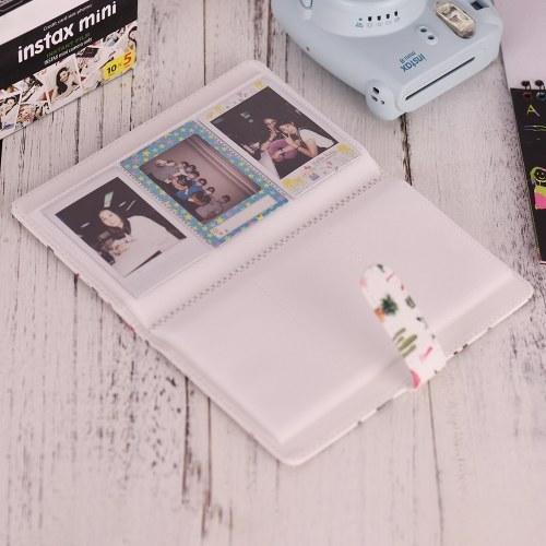 96 Pockets Mini Photo Album Photo Book Album for Fujifilm Instax Mini 9 8 7s 70 25 50s 90 Color Films Photo Camera Paper for Name Card Credit Card D5896-2