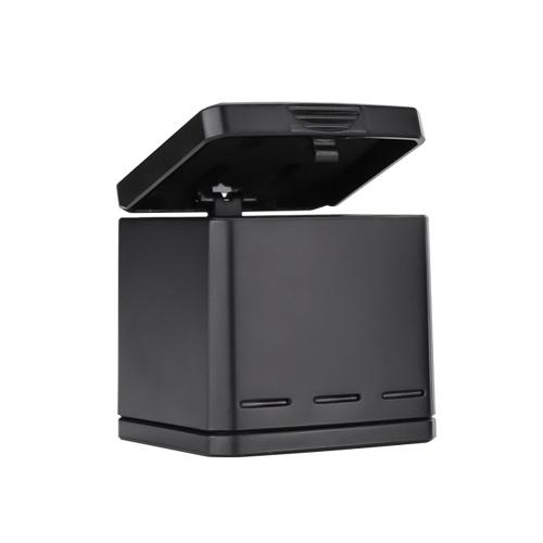 TELESIN 2 em 1 caso de caixa de carregamento de armazenamento de bateria portátil