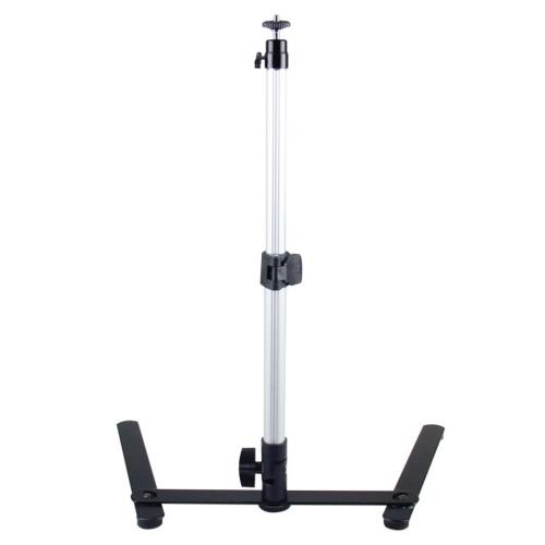 Conjunto de suporte de mesa ajustável de fotografia Mini monopé sem clipe de telefone Ferramenta de fotografia para celular