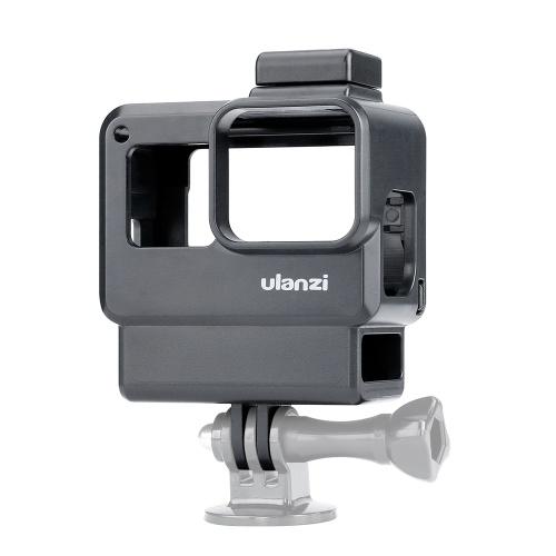 Quadro da gaiola de Vlogging de Shell do alojamento da câmera da ação do caso de Ulanzi V2 Vlog