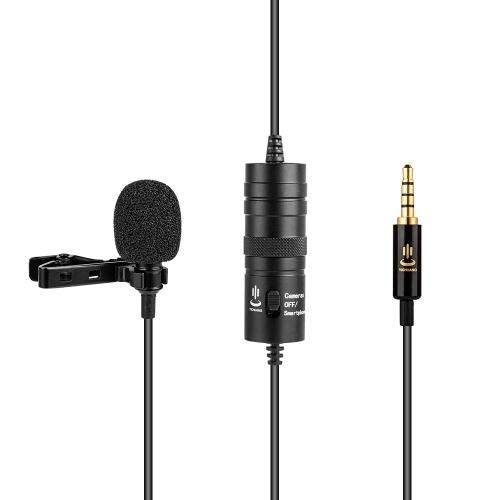 Microphone à pince professionnel Lavalier