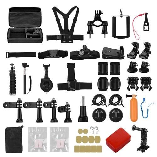 Комплект принадлежностей для экшн-камеры 50-в-1