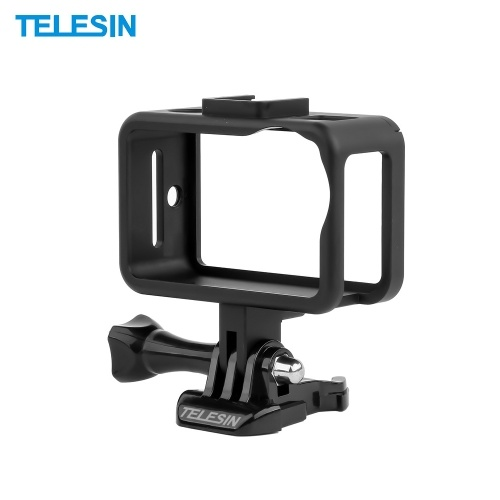 TELESIN Aluminum Alloy Protective Housing Frame Case Shell Cover Video Vlog Cage Mount