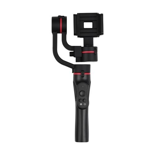 Stabilizzatore verticale a 3 assi per smartphone Scatto verticale Bloccato / Mezzo follow / Full follow follow Batteria al litio integrata per iPhone X / 8/7 / 6s per smartphone Samsung Huawei Xiaomi