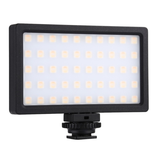 RGB Dimmable Led Fill Light 100LED 800LM Photography Lamp Camera Light Pocket Portable Photography Fill Light
