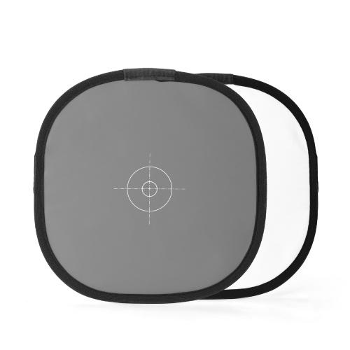 300 mm tragbarer Fotografie-Reflektor Grau-Weiß-Abgleichkarte