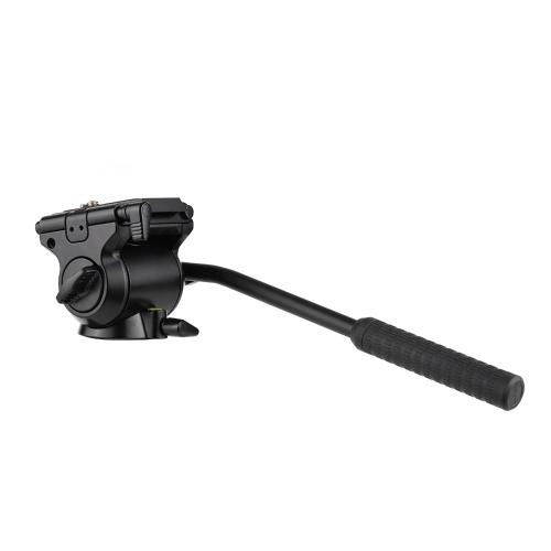 Tête à rotule hydraulique de photographie de tête de fluide vidéo de caméra professionnelle
