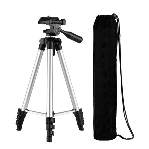 Max. Height 46inch/118cm Aluminum Alloy Camera Tripod