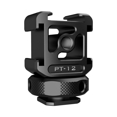 Ulanzi Triple Cold Shoe Mount Adapter Aluminum Alloy