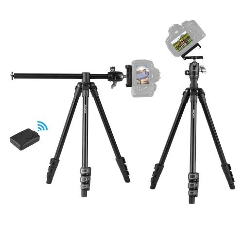 Andoer Q160H Портативный штатив для камеры Горизонтальный профессиональный штатив для путешествий
