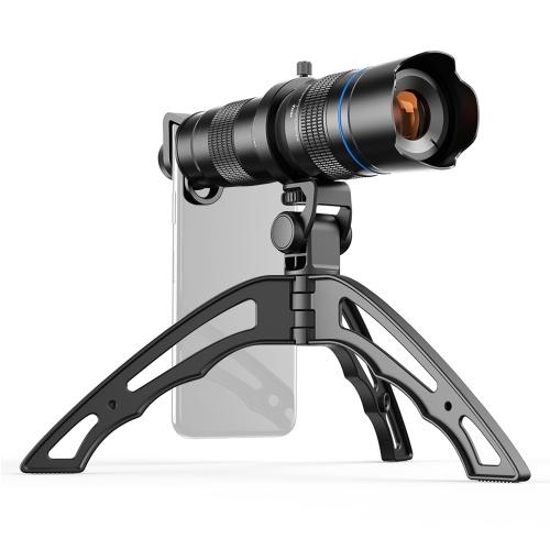 APEXEL JS20-40XJJ04 Metallo HD 20-40X Zoom Telescopio monotubo Teleobiettivo per telefono monoculare a doppia regolazione esterna