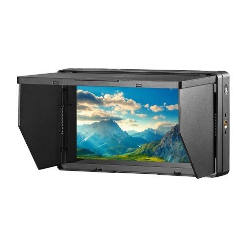 Godox GM55 5.5 pouces écran tactile IPS moniteur sur caméra 4K sortie HDMI 160 ° grand angle de vision 3D LUT pour caméras DSLR ILDC