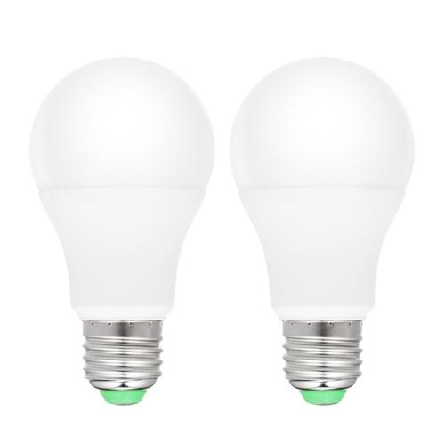 Paquete de 2 bombillas de luz LED para insectos de Dusk to Dawn Yellow