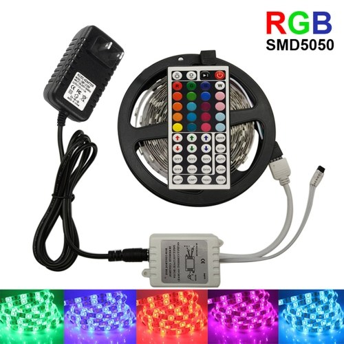 Strisce LED 5M impermeabili IP65 RGB cambia colore strisce LED