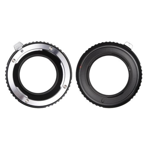 Fikaz PK-M4/3 Lens Mount Adapter Ring Aluminum Alloy Replacement for Pentax K-Mount Lens to Olympus Panasonic Micro 4/3 Mount Mirrorless Cameras GM1/GH4/GM5/GF7/G7/GX8/G85/G80/DC-GH5/DC-G/E-P5/E-PL6/E-PL7/PEN-F/E-PL8