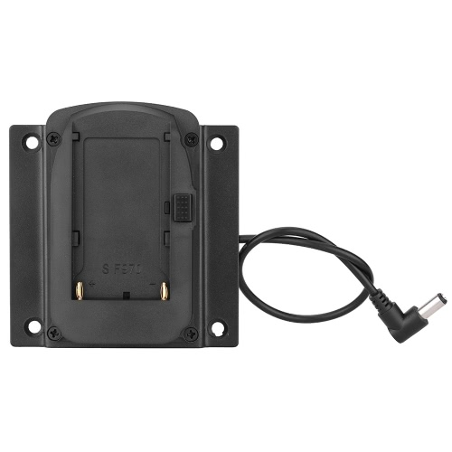 Piastra di Base adattatore batteria per monitor Lilliput per FEELWORLD monitor compatibile batteria per Sony NP-F970 F550 F770 F970 F960 F750