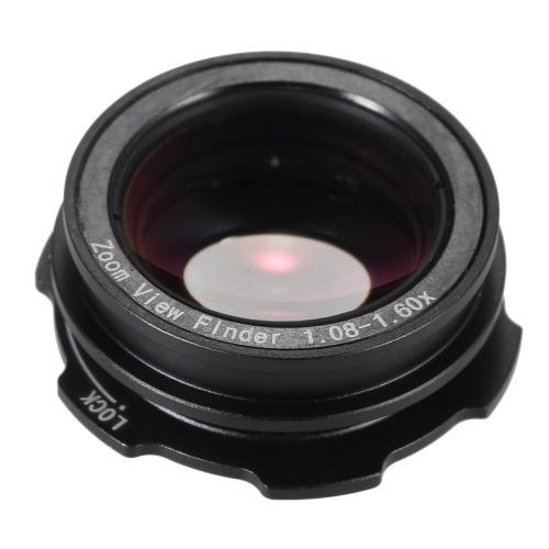 1.08 x-1.60 x Zoom DSLR fotocamera foto oculare occhio Coppa oculare ingranditore 6 tipo porte per Canon Nikon Pentax Sony Olympus Fujifim Samsung Minolta