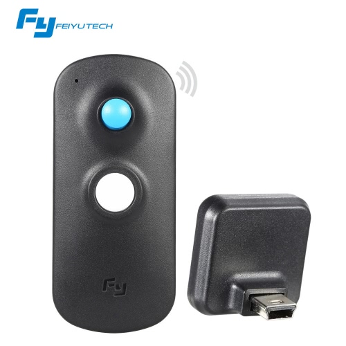 Feiyu 2.4G Wireless Control remoto con MINI receptor de Feiyu MG/G4 serie cardán MG/G4/G4 QD/G4S/G4 para Smartphone/G4 Pro para iPhone