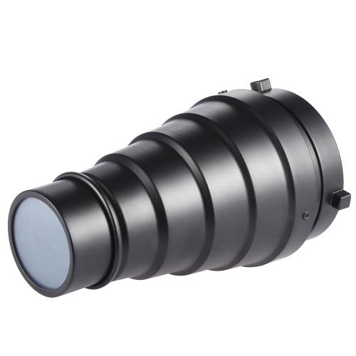 ハニカム グリッド 5 個セット カラー フィルター用キット Bowens マウント スタジオ写真 Monolight ストロボ金属円錐スノッブ